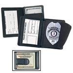 Side Open Badge Case with Credit Card Slots