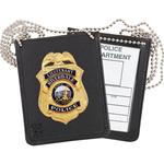 Neck - Dress Recessed Badge & ID Holder
